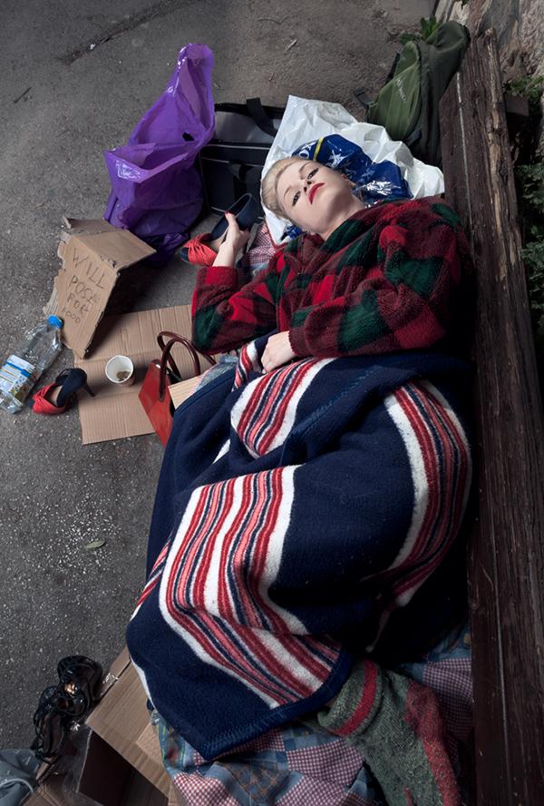 vanity poor model hobo model homeless model Hobo jewelry