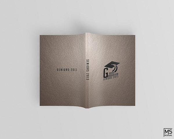 Graduation Book Cover Design : Graduation book cover design finalization on behance