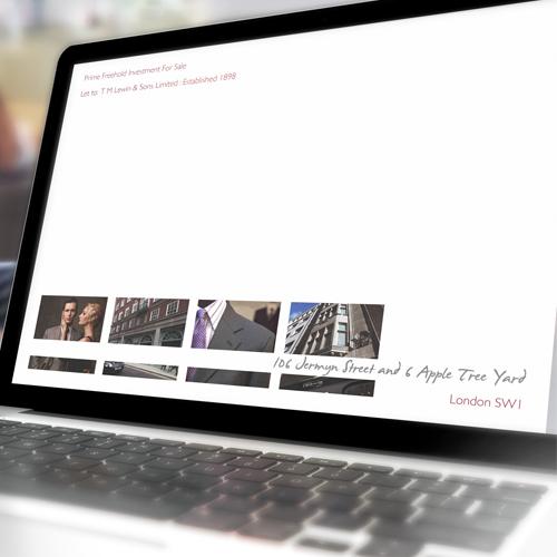 Interactive PDF brochure online Web property Investment Property marketing