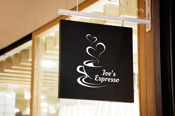 Joe's Expresso branding