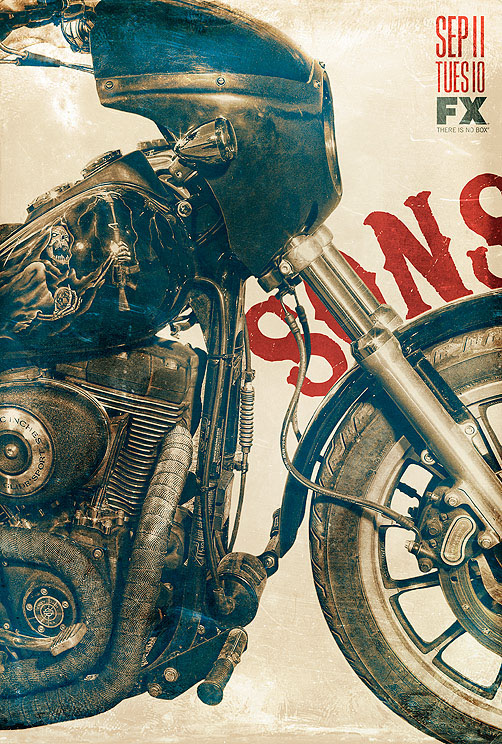 Sons of anarchy season 5 on behance for American outlaw tattoo