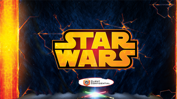 Star wars powerpoint template on behance toneelgroepblik Image collections