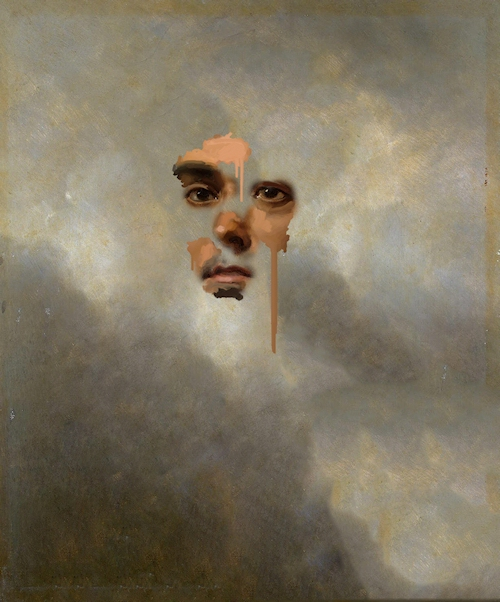 Digital Collage portraits antique Victorian conceptual manipulation experimental dark paint Paintings old Appropriation Art