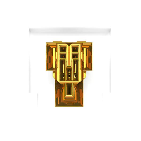 typo gold White construct