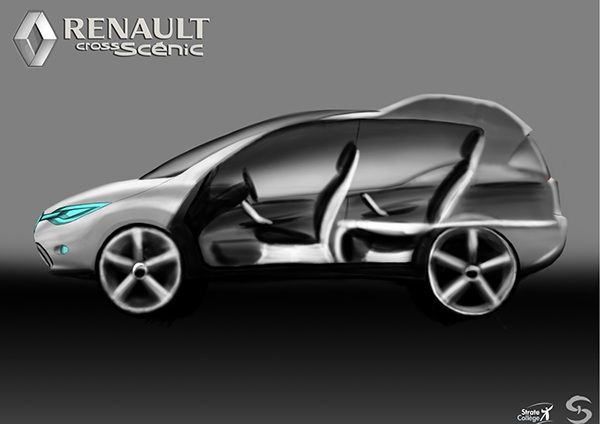 Mobility Design renault strate Ecole2Design