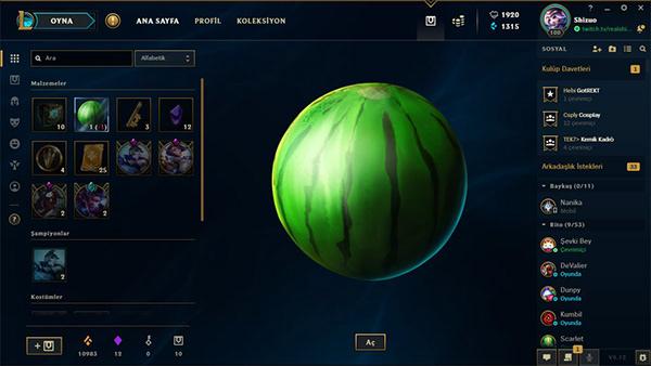 Resultado de imagem para league of legends watermelon
