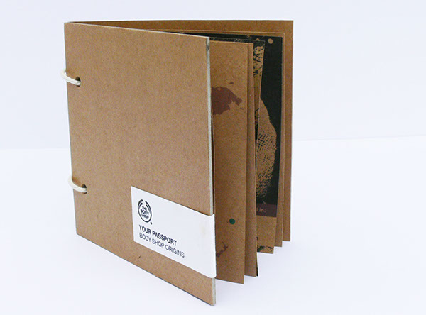 body shop Packaging environment seed paper