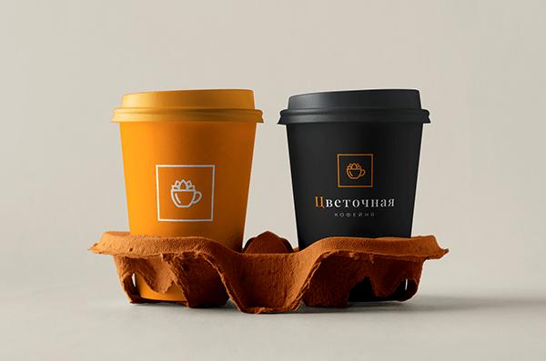 """Flower Coffee Shop LOGO Логотип для """"Цветочная кофейня"""""""
