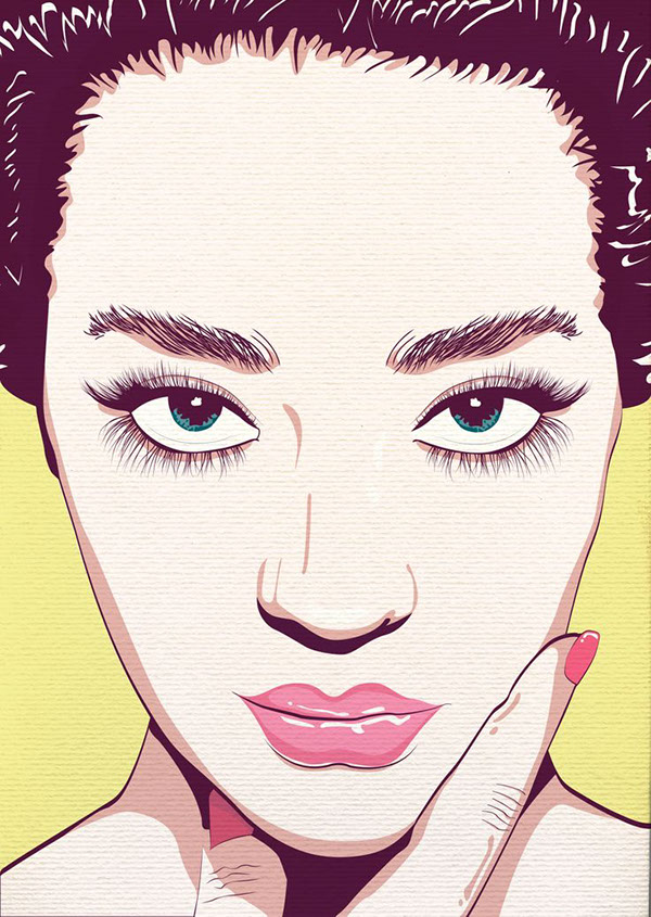 girl eyes woman