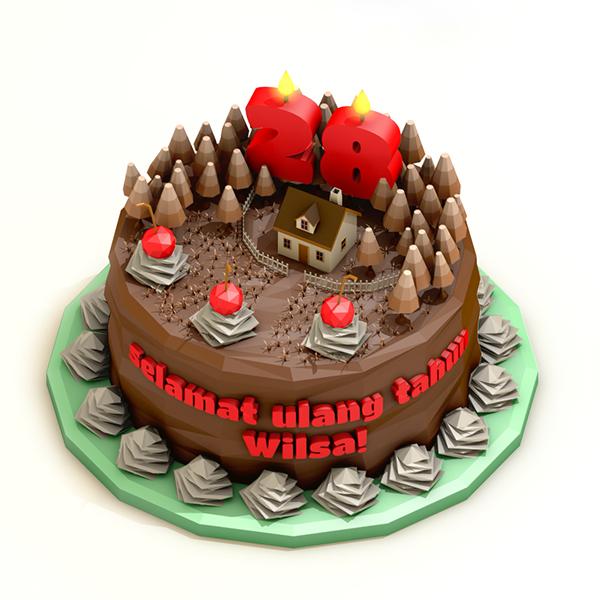 精品的19套生日蛋糕圖案欣賞