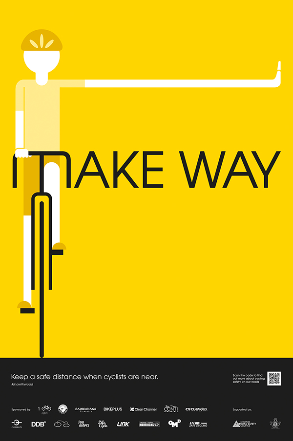 Safe Cycling Campaign On Behance