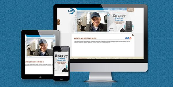 Website mobile site Responsive Design