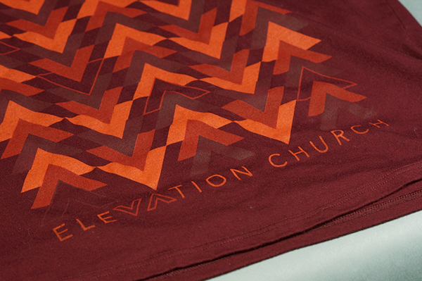 T-Shirt Design apparel elevation church shirt Elevation