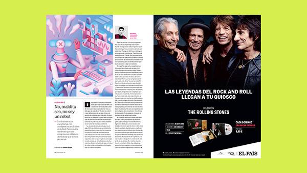 RETINA ELPAÍS #33 december 2020 - Art Direction