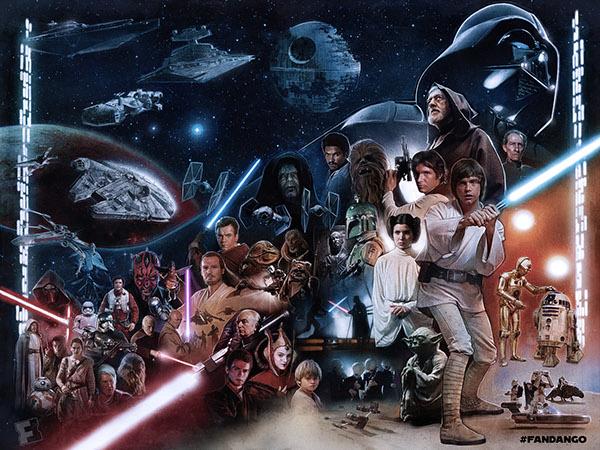The Star Wars Saga: Episode I - VII