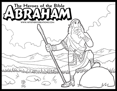 biblical coloring pages The Heroes of the Bible Coloring Pages on Behance biblical coloring pages