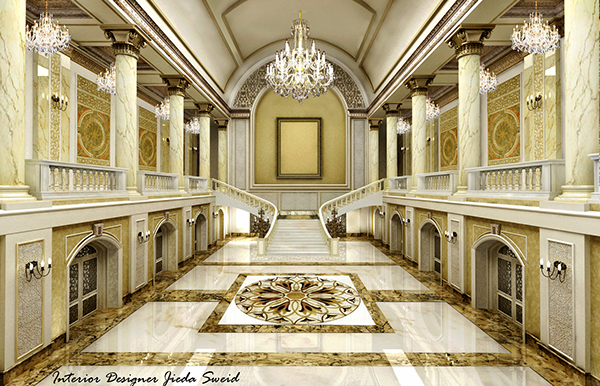 Classic Palace Hall On Behance