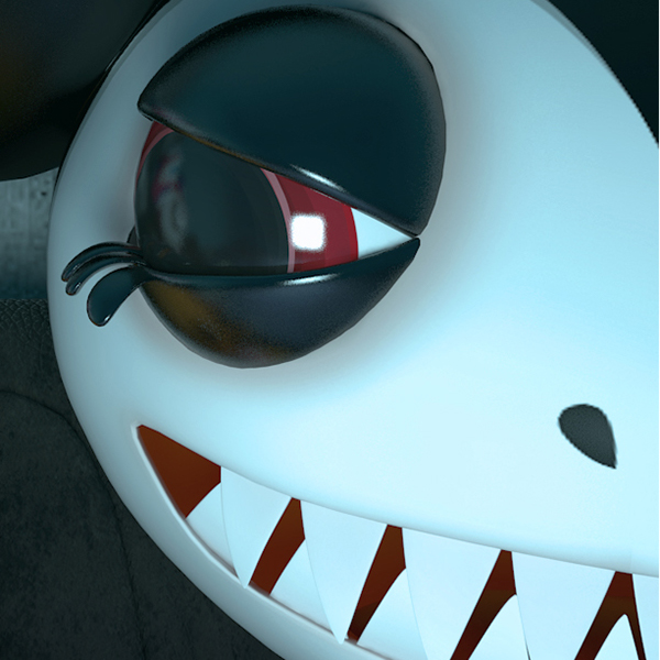 3D CGI Halloween monster cute bad pumpkin skeletton video game Scary television horror movie