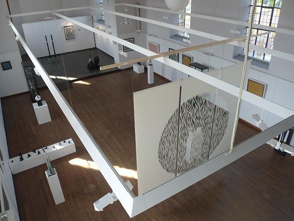 papercut Exhibition  paper church handmade