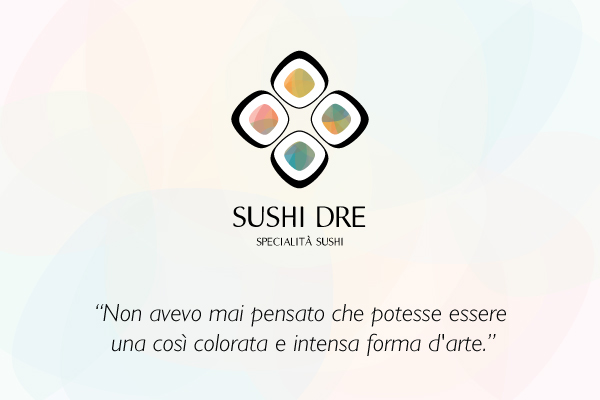sushi dre logo on behance