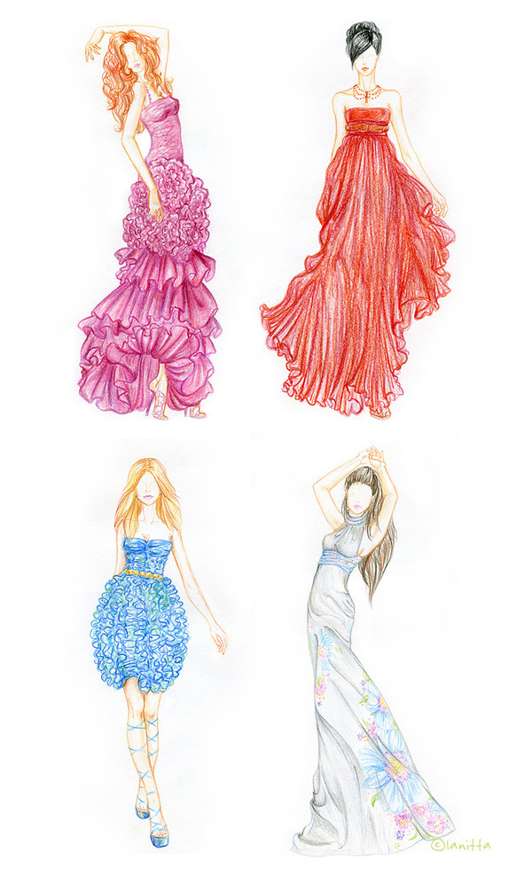 color pencil sketches on behance