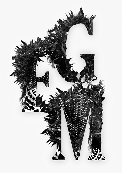 abstract experimental michael ostermann CG 3D mixed media