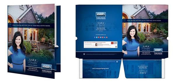 Weichert realtors presentation folders | realty cards printing.
