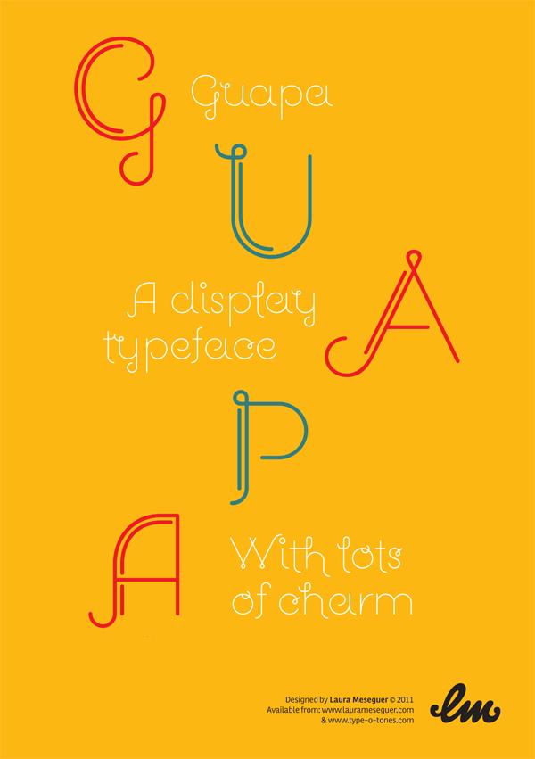 Display typedesign Custom fonts