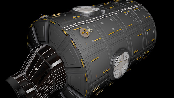 Cinema 4D - Spacestation