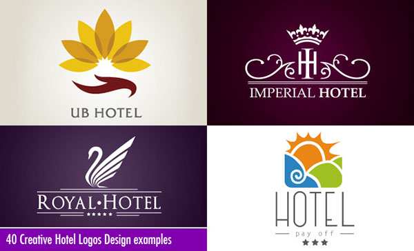 40 Creative Hotel Logos Design examples for you on Behance