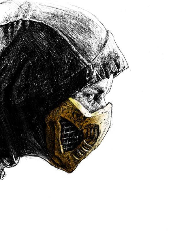 Scorpion Mortal Kombat X On Fit Portfolios