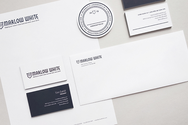 identity letterhead business card uniforms Military Collateral brochure accordion