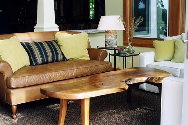 Interior Design Of Nh Lakefront Living Room On Behance