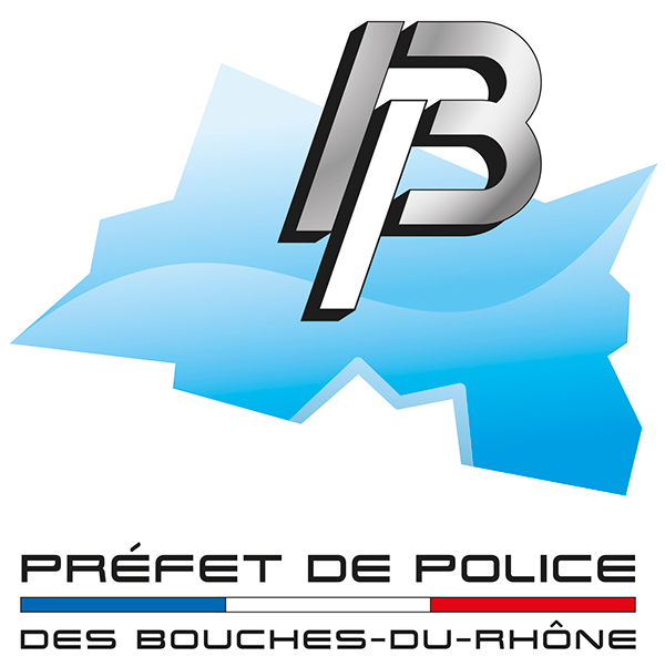 Logo de la pr fecture de police des bouches du rh ne on for Logo bouche du rhone