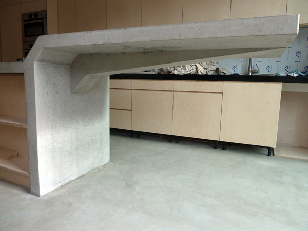 Cantilever countertop on behance for Cantilever counter support
