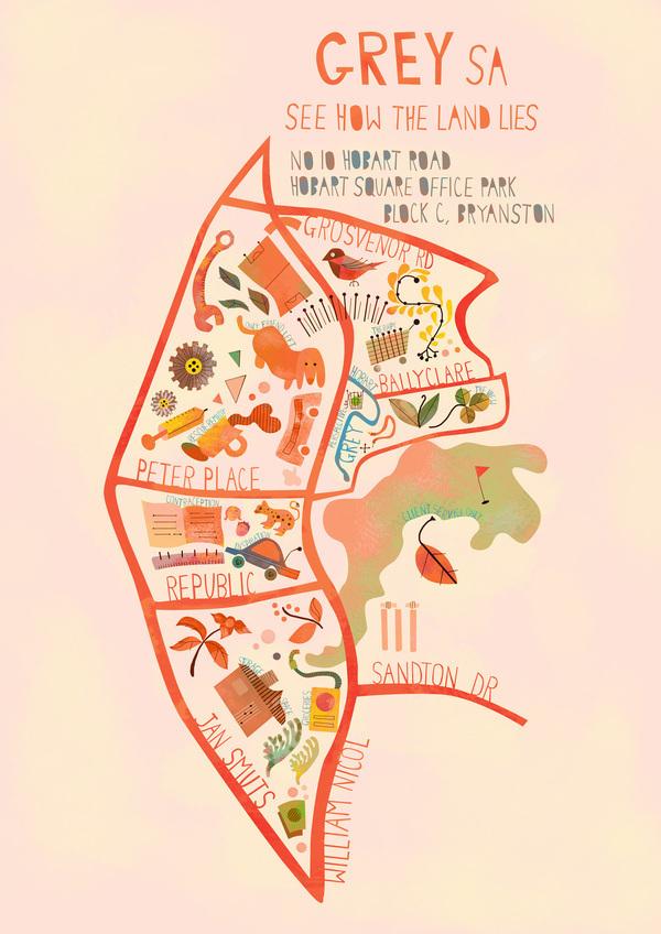 精細的19套手繪地圖欣賞