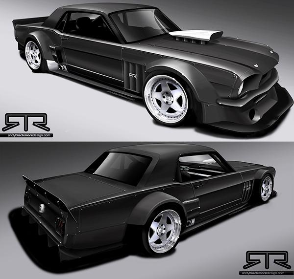Ken Block Mustang >> Ken Block S Mustang Rtr Hoonicorn Vehicle Styling On Behance