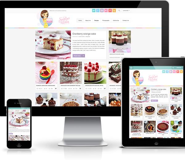 Sunshine 39 S Kitchen Culinary Blog On Behance