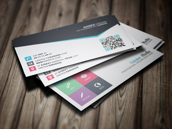 Creative Business Card Template On Behance - Creative business card templates