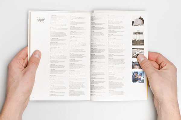 Lufthansa a5 FHD optik labor visuell lars müller publishers Corporate Design otl aicher hfg ulm germany german Jens Müller Marvin Hüttermann Pascal Tedjagutomo Benjamin Welke