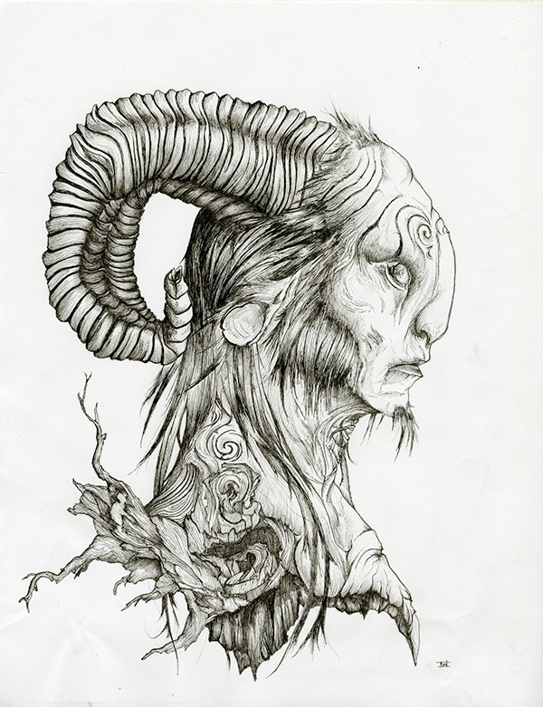 Pan's Labyrinth Poster Illustration on SCAD Portfolios