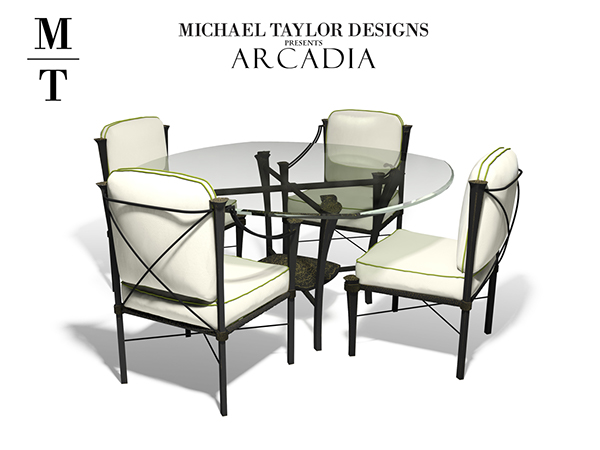 Dining Room Set For Michael Taylor Design. Modeled In 3DS Max And Rendered  Using Mental Ray