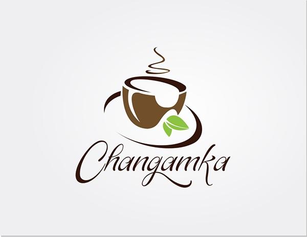 creative tea logo design on student show