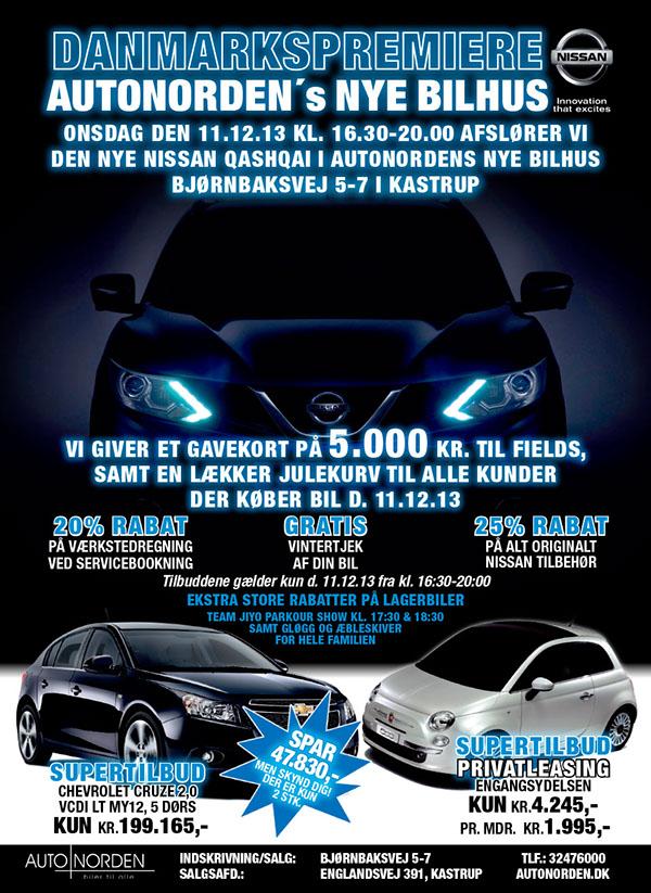 Nissan Car Dealer Advertising In A Newspaper On Behance