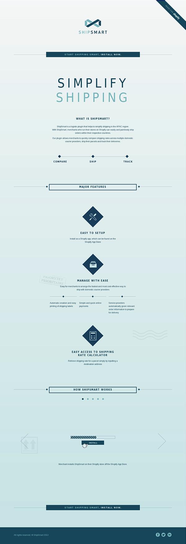 shipping,Shopify,Theme,HTML,html5,css3,minimalistic,design,Web,Layout