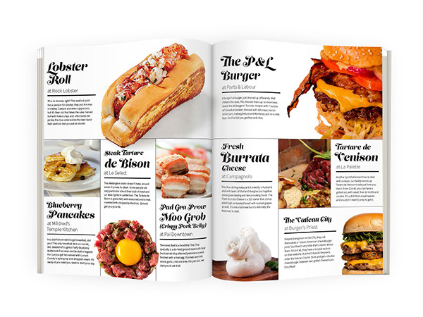 Food magazine spread the image kid has it for Articles cuisine