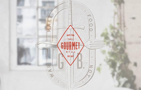 精緻的46套餐廳logo欣賞