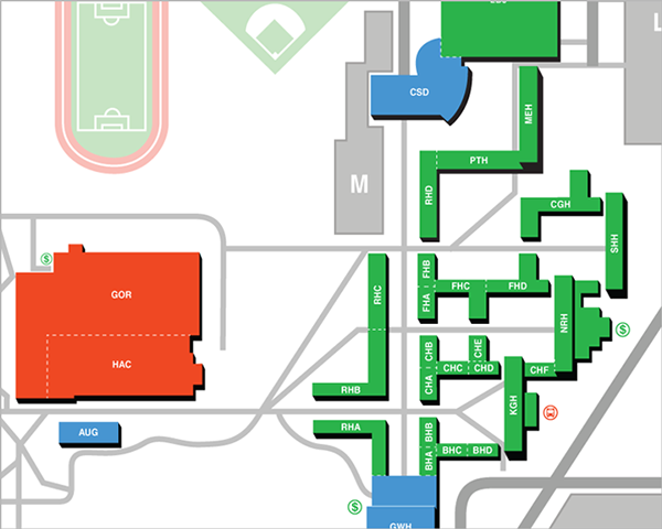 Rit Campus Map On Behance