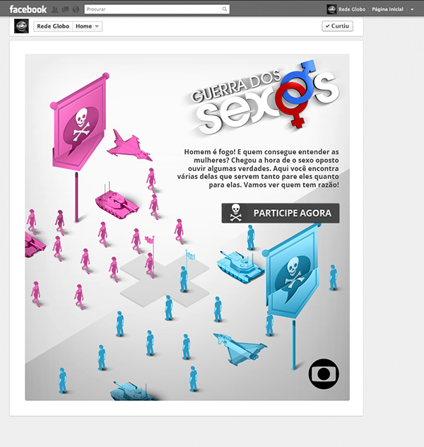rede globo app application aplicativo design Binder share joke