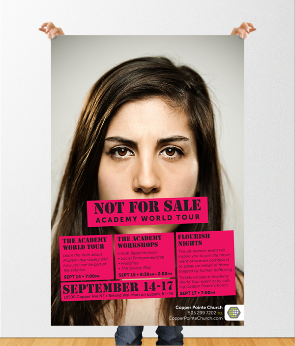 not for sale anti-human trafficking albuquerque new mexico design